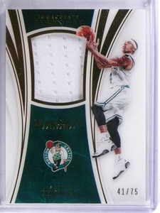 2015-16 Panini Immaculate Standard Isaiah Thomas jersey #D41/75  *69057
