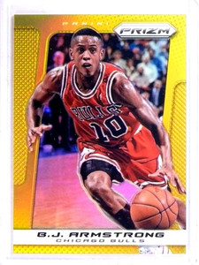 2013-14 Panini Prizm Gold Parallel B.J. Armstrong #D09/10 #259 *68990