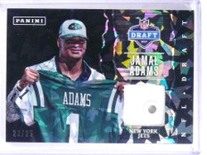 2017 Panini Father's Day NFL Draft Jamal Adams Cracked Ice hat #D23/25 *69108