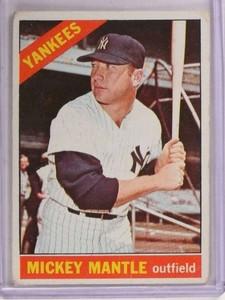 1966 Topps Mickey Mantle #50 Fair *69245