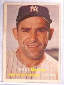1957 Topps Yogi Berra #2 VG-EX *69277