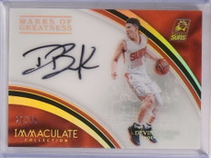 2016-17 Immaculate Marks Greatness Devin Booker autograph auto #D21/75 *69232