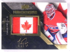 2015-16 Upper Deck Black Pride Of A Nation Carey Price autograph #D23/25 *69296