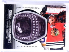 2015-16 Black Diamond Championship Rings Joakim Nordstrom #CR-JN *69193