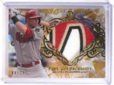 2015 Topps Tribute Paul Goldschmidt diamond 4clr patch #D04/25 #DC-PG *51757