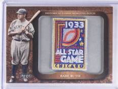 2009 Topps Legends Commemorative Patch Babe Ruth All Star #LPR60 *61828
