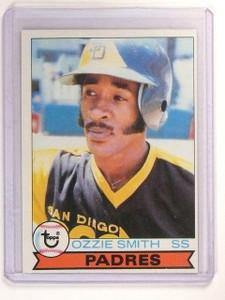 1979 Topps Ozzie Smith Rookie RC #116 EX *45723