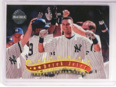 1997 Topps Stadium Club Derek Jeter Matrix #55 *52639
