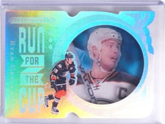 2016-17 UD Black Diamond Run for the Cup Ryan Getzlaf #D47/99 #RUNRG *64203
