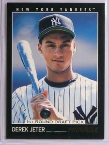 1993 Pinnacle Derek Jeter rc rookie #457 *55272