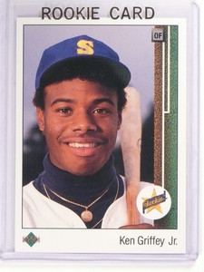 1989 Upper Deck Ken Griffey Jr. rc rookie #1 *52502