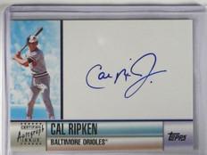 2006 Topps Series 2 Cal Ripken Jr. auto autograph #D4/100 #TA-CR *34104