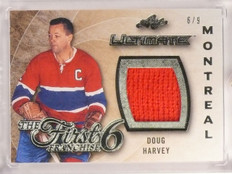 2015-16 Leaf Ultimate First 6 Franchise Doug Harvey jersey #D6/9 #F6-05 *53311