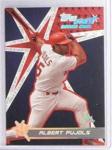 2001 Topps Stars Albert Pujols rc rookie #198 *49415