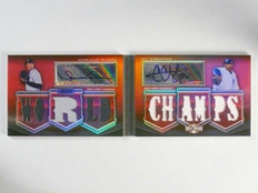2010 Triple Threads Book Mariano Rivera & Sabathia autograph jersey #D14/18 *445