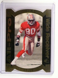 1995 Upper Deck SP All-Pro Gold Jerry Rice AP-6 *47032
