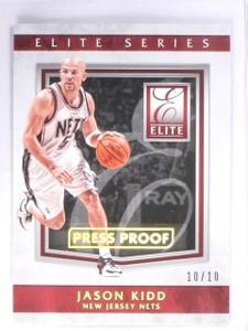 2015-16 Panini Elite Series Jason Kidd Press Proof Nets #D10/10 #39 *56440