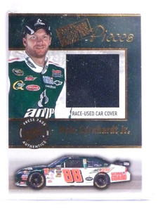 2009 Press Pass Pieces Dale Earnhardt Jr. Race-Used Car Cover #PPDE *64317