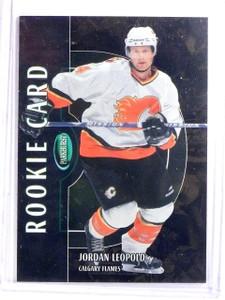 2002-03 Parkhurst Bronze Jordan Leopold Rookie RC #D007/100 #209 *66673
