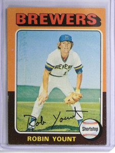 1975 Topps Robin Yount rc rookie #223 VG-EX *55939