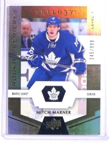 2016-17 Upper Deck Trilogy Mitch Marner Rookie RC #D245/999 #53 *66668