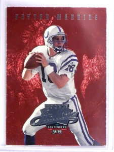1998 Playoff Contenders Rookie Stallions Peyton Manning Rookie RC #6 *64240