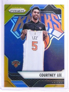 2016-17 Panini Prizm Prizms Gold Refractor Courtney Lee #D08/10 #125 *64403