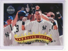 1997 Topps Stadium Club TSC Matrix Derek Jeter #55 *53051