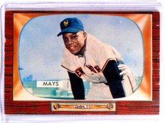 1955 Bowman Willie Mays #184 VG *57403