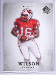 2012 Upper Deck SP Authentic Russell Wilson Rookie RC #87 *62598