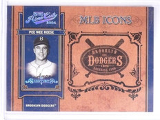 2004 Prime Cuts MLB Icons Platinum Pee Wee Reese #D1/1 #MLB19 *63959