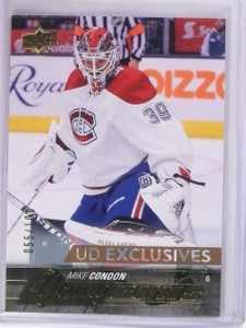 2015-16 Upper Deck Mike Condon Exclusives Young Guns RC #D055/100 #239 *56533