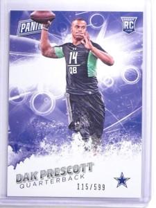 2015 Panini Father's Day Dak Prescott Rookie RC #D115/599 #45 *63512