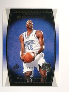 04-05 Sp game Used Dwight Howard rc rookie #D302/999 #92 *46752