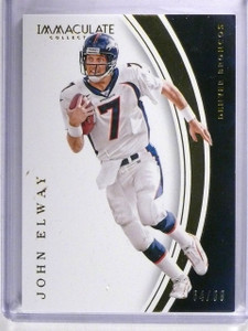 2016 Panini Immaculate Collection John Elway #D64/99 #10 *62057