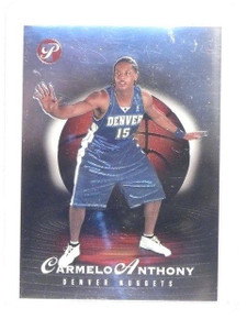 03-04 Topps Pristine Carmelo Anthony rc rookie #D262/999 #108 *46320