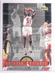 1996-97 Upper Deck Jordan Greater Heights Michael Jordan #GH3 *67035
