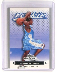 2003-04 Upper Deck MVP Carmelo Anthony Rookie RC #203 Silver *45251