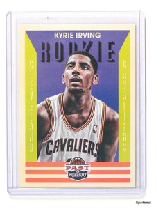 2012-13 Past and Present Kyrie Irving Rookie RC #160 *44299