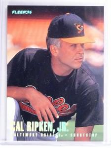1996 Fleer Tiffany Cal Ripken Jr. #20 *62383