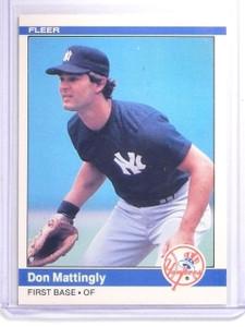 1984 Fleer Don Mattingly Rookie RC #131 *64150