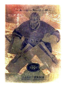 2016-17 Upper Deck Artifacts Gold Aurum Carey Price #A22  *61460