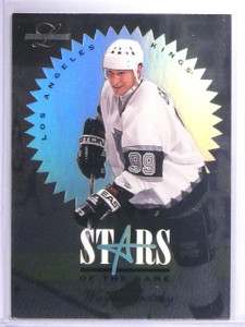 1995-96 Leaf Limited Stars of the Game Wayne Gretzky #D4011/5000 #3  *61512