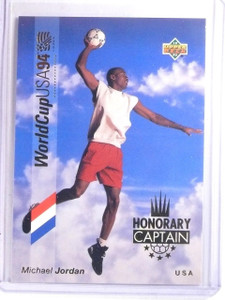 1993 Upper Deck World Cup 94 Preview Honorary Captains Michael Jordan #HC3 *6663