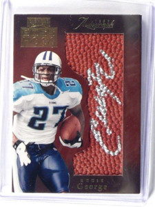 1999 Playoff Boss Hogs Eddie George auto autograph #BH9 *36140