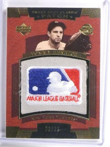 2004 Sweet Spot Classic Tommy Henrich MLB Logo Patch #D23/25 #SSPTH *59079