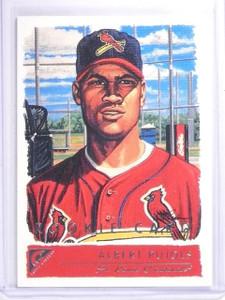 2001 Topps Gallery Albert Pujols Rookie RC #135 *64059
