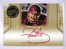 2011 Press Pass Legends Karl Mecklenburg auto autograph red ink *29227