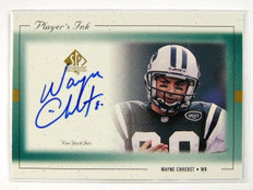 1999 Sp Authentic Player's Ink Wayne Chrebet auto autograph *28767