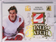 2016 Leaf Enshrined Hall Patch Sergei Fedorov 2clr patch #D 1/5 *55147